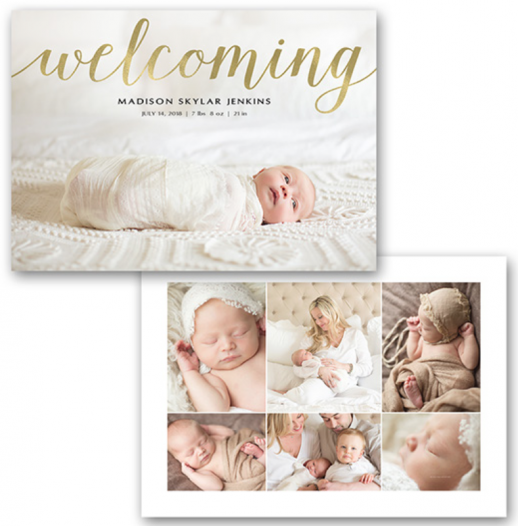 Birth Announcements Meredith Klapp Photography – Madison Wi Birth Announcements